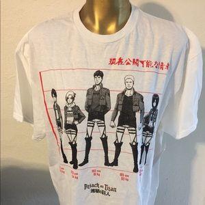Attack on Titan T Shirt New Size Lg